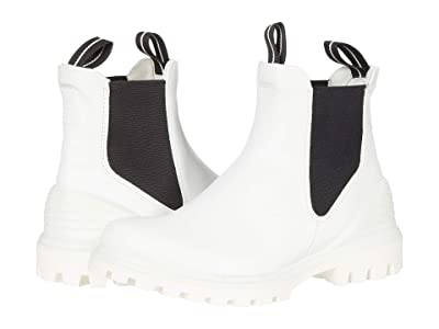 ECCO Tredtray Chelsea Boot (Bright White) Women