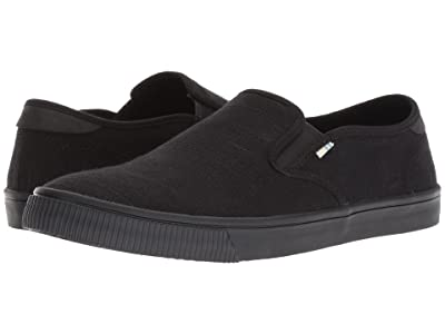 TOMS Baja (Black/Black Heritage Canvas) Men