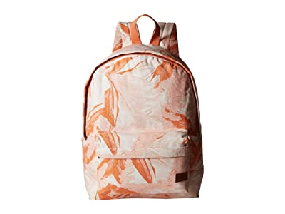 Roxy Sugar Baby Canvas Backpack (Bright White Jungle Boogie) Backpack Bags
