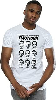 Big Bang Theory Men's Sheldon Emotions T-Shirt