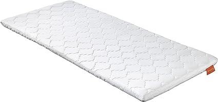 sleepling 194092 Topper Cubre colchón, Espuma en frío, 80 x 200 x 6 cm, Blanco