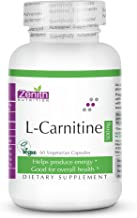 Zenith Nutrition L-Carnitine (Amino Acid for Muscle, Heart & Brain) 500mg (60caps)