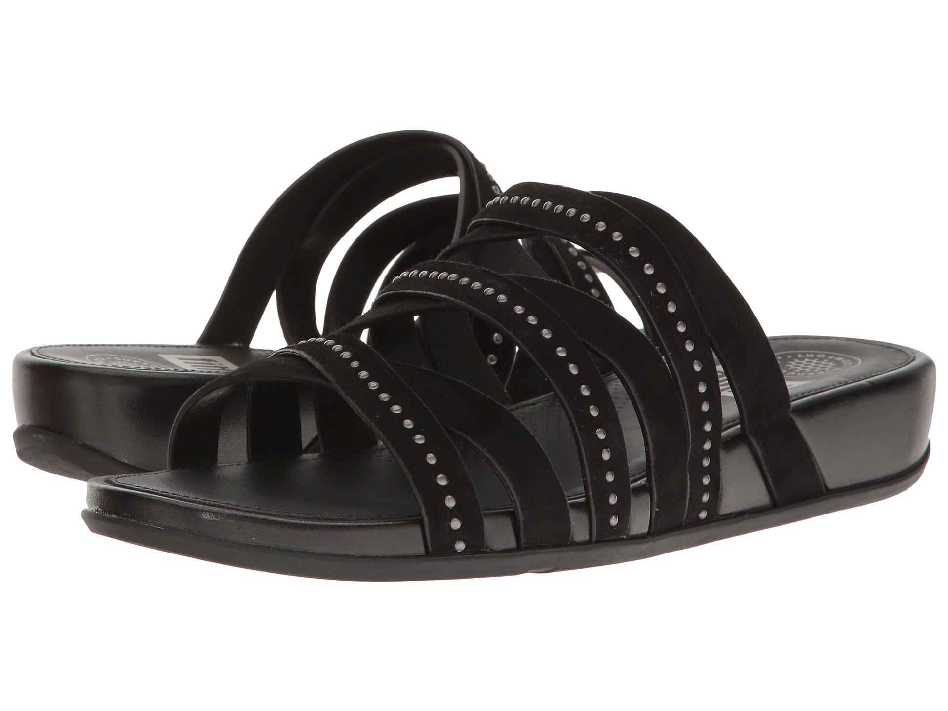 c953b828e Fitflop Lumy Leather Slide W  Studs