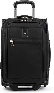 Travelpro Crew Expert-Softside Expandable Rollaboard Upright Luggage, Jet Black
