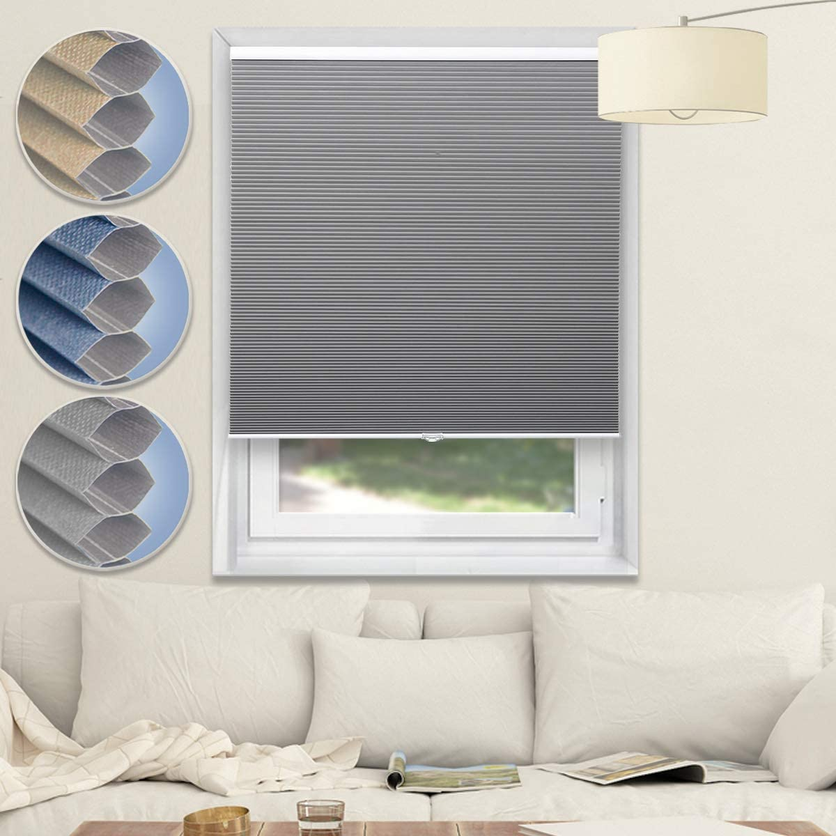 Blackout Blinds for It is very popular Windows Cordless Honeycomb Cellular Shades Ranking TOP12 f