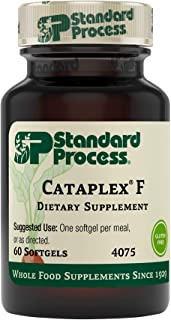 Standard Process Cataplex F - Whole Food Supplement, Metabolism, Skin Health and Hair Health with Vitamin B6, Flaxseed Oil...