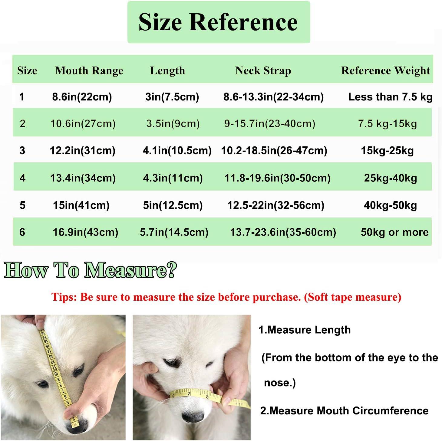 Atmungsaktiv ILEPARK Maulkorb f/ür Hunde Silikon Hundemaulkorb f/ür Kleine Mittelgro/ße und Gro/ße Hunde aus weichem leuchtenden Silikon