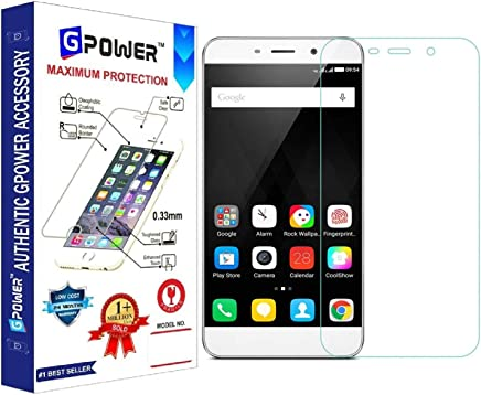 G-POWER ®2.5D 0.3mm Tempered Glass Screen Protector for MICROMAX Q391 with Installation Kit