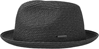 Stetson Dawson Black Player Porkpie Hat Beach Hat Sun Hat Straw Hat Summer Beach Sun Hat fedora Fedora