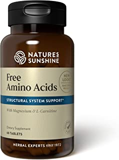Sponsored Ad - Nature's Sunshine Free Amino Acids 60 Tablets