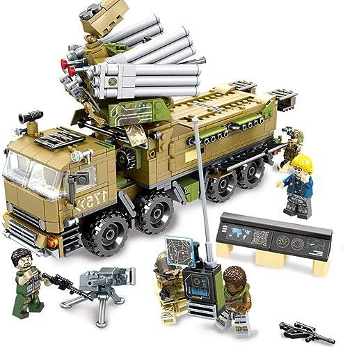 A&L Military Series Building Block City Kindergeschenke Military Demontage Einsetzen und Zusammenbauen von Geburtstagsgeschenken