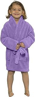 Soft Touch Linen TowelnRobe Microfleece Plush Bath Robe for Boys - Turkish Kids Bathrobe