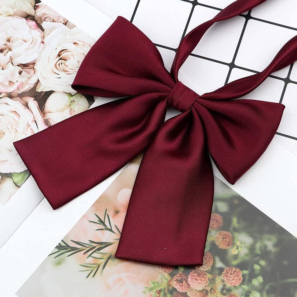 discount ZZABC NSLDXZPJ Women's Shirts Bowtie Wed Ladies School Low price Girl