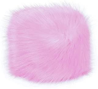 Best pink fox fur hat Reviews