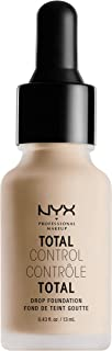 nyx drop foundation shades