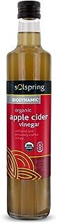 Dr. Mercola Solspring Biodynamic Organic Apple Cider Vinegar, About 33 Servings per Bottle, (16.90 fl oz), Non GMO, Gluten...