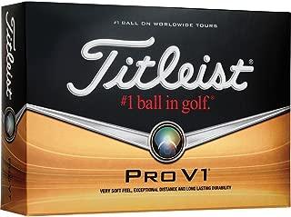 Titleist Pro V1 Custom Logo Golf Balls - Print Your Own Logo (12 Dozen)