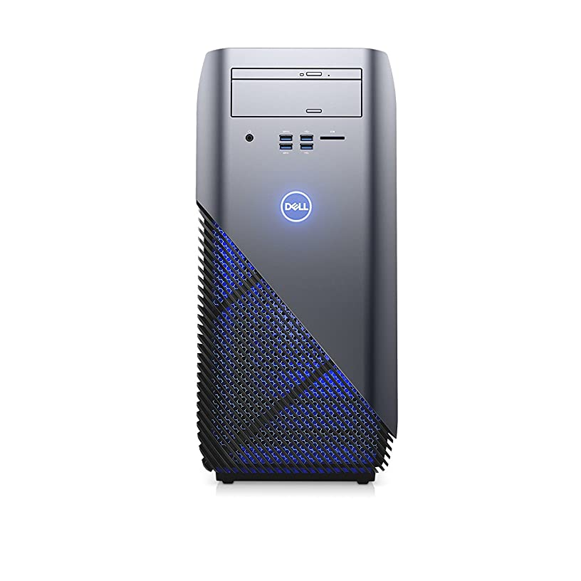 Dell Inspiron 5675 Gaming Desktop - AMD Ryzen 7 1700X up to 3.8 GHz Processor, 32GB DDR4 Memory, 2TB SSD + 2TB SATA Hard Drive, AMD Radeon RX 580 8GB Graphics, DVD Burner, Windows 10 Pro, Recon Blue