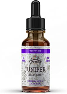 Juniper Tincture Alcohol-Free, Organic Juniper Berry Extract (Juniperus communis) Stomach and Health Support, Non-GMO in C...