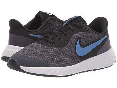 Nike Kids Revolution 5 (Big Kid) (Gridiron/Mountain Blue/Stellar Indigo) Boys Shoes