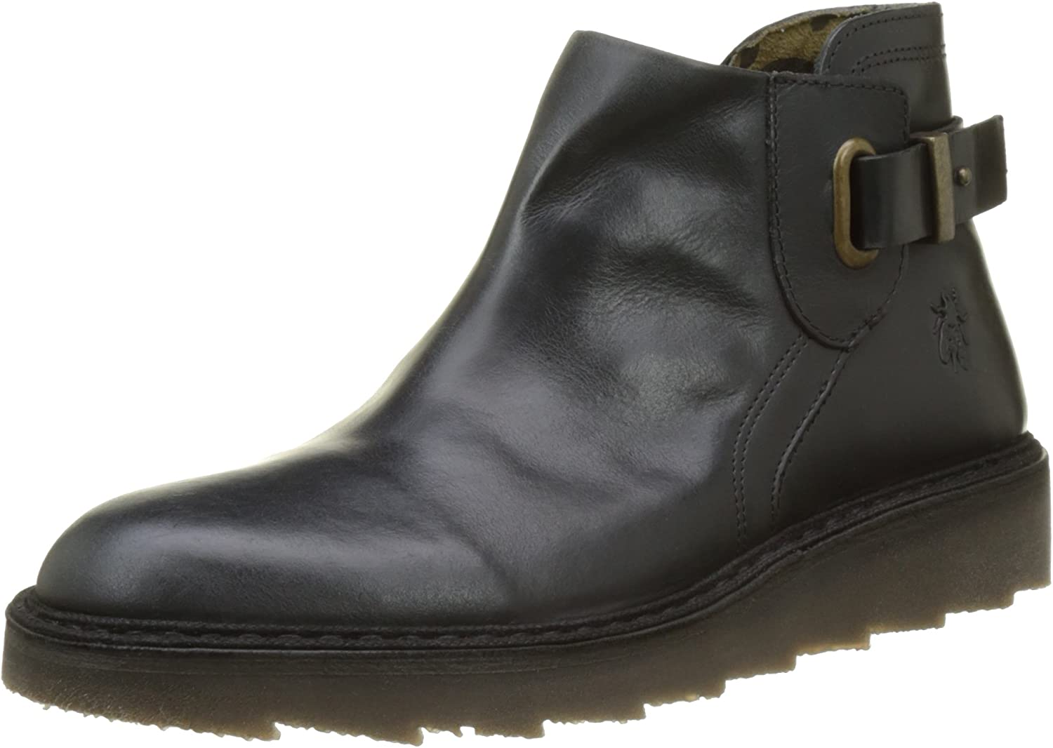 Fly London Womens Amie 954 Leather Boots Black