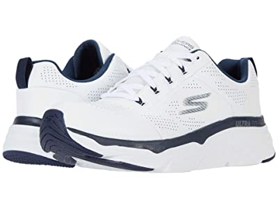 SKECHERS Max Cushioning Elite Lucid (White/Navy) Men