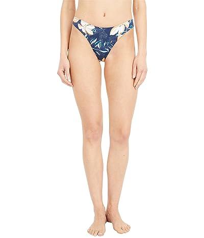 Roxy Lilies Surf Mini Bikini Bottoms (Mood Indigo Happy Day) Women