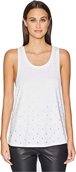 All Over Rhinestone Tank Top