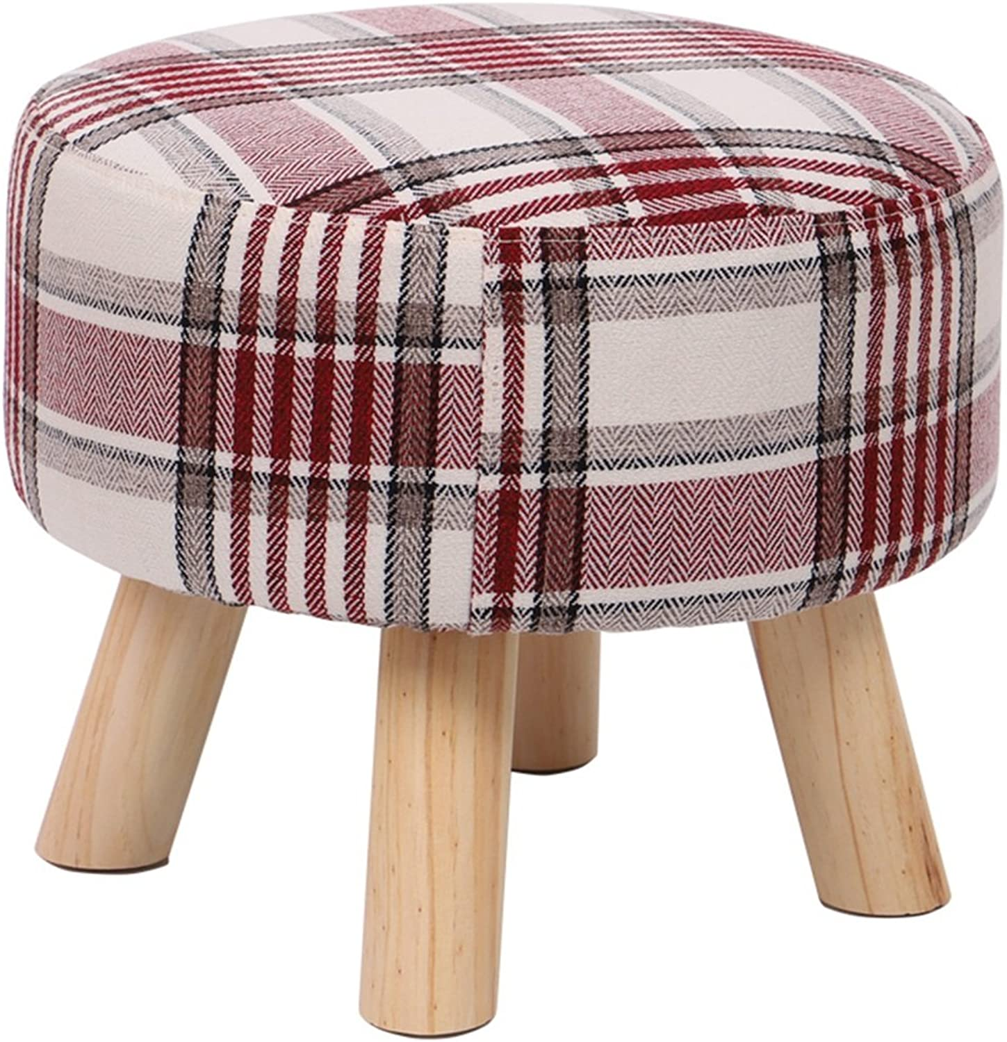 Solid Wood shoes Bench wear shoes Bench Fabric Stool Sofa Bench Coffee Table Stool Home Stool Washable Hallway Furniture