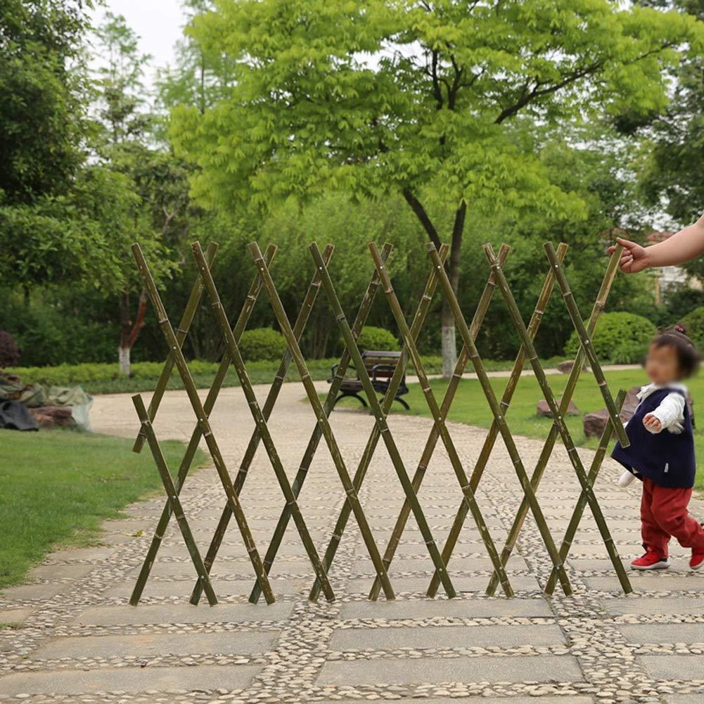 ZHANWEI Valla de jardín Bordura de jardín Natural Bambú Retráctil Rastra Al Aire Libre Pared Césped Patio, 4 Tamaños (Size : 180x60cm): Amazon.es: Jardín