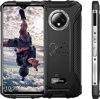 OUKITEL WP8 Pro Unlocked Rugged Smartphone, Android 10 4GB RAM + 64GB ROM MT6762D Cellphone, IP68 5000mAh 6.49 inch Dual S...