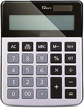 $44 » Z-Color Multi-Function Office Electronics Calculator Desktop Calculator LED Display,12-Digit Display Solar Power,Office Ba...