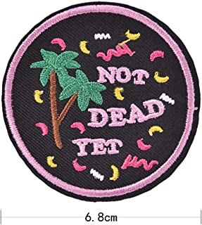 Patches - Do Nothing Forever Iron On Embroidered Clothes Patch For Clothing Stickers Garment Apparel Accessories New arrival