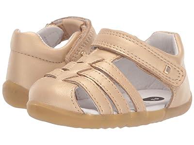 Bobux Kids Step Up Jump Sandal (Infant/Toddler) (Gold) Girl