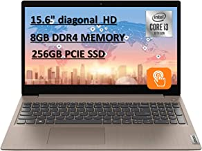"""2020 Powerful Lenovo IdeaPad 15.6"""" HD Touch Screen Laptop, 10th Intel Core i3-1005G1 up to 3.40GHz, 8GB RAM, 256GB PCIe SS..."""