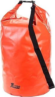Xcase Schwimmsack: Wasserdichter Packsack 70 Liter, rot Tasche wasserfest