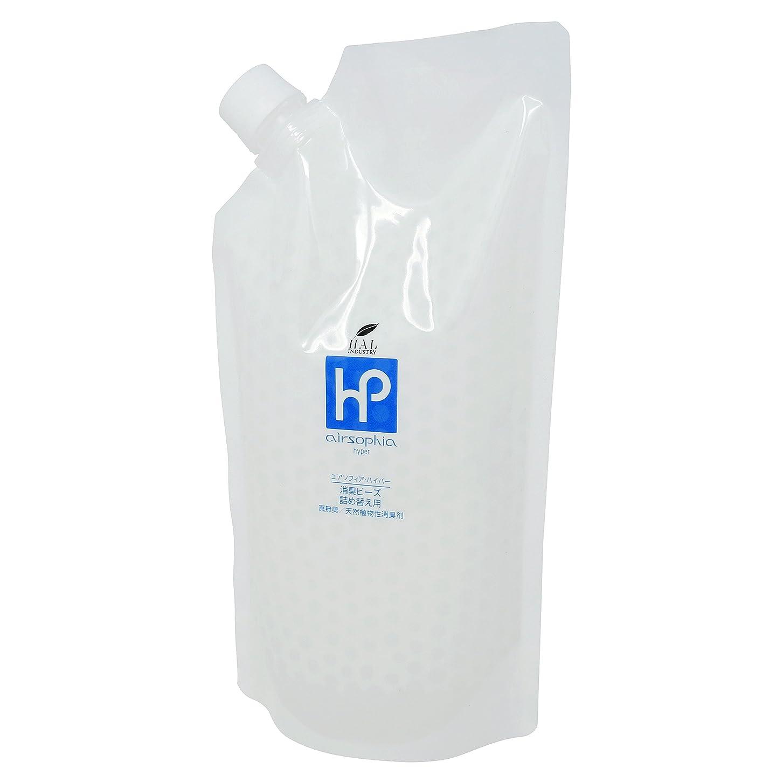 前部静脈アプローチハル?インダストリ 消臭剤 (消臭ビーズ 1kg / 詰め替え) 無香料 室内消臭 置き型