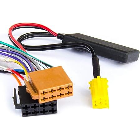 Watermark Vertriebs Gmbh Co Kg Bluetooth Aux Adapter Geeignet Für Smart Fortwo Br451 2007 2010 Mp3 Stream Spotify Navigation