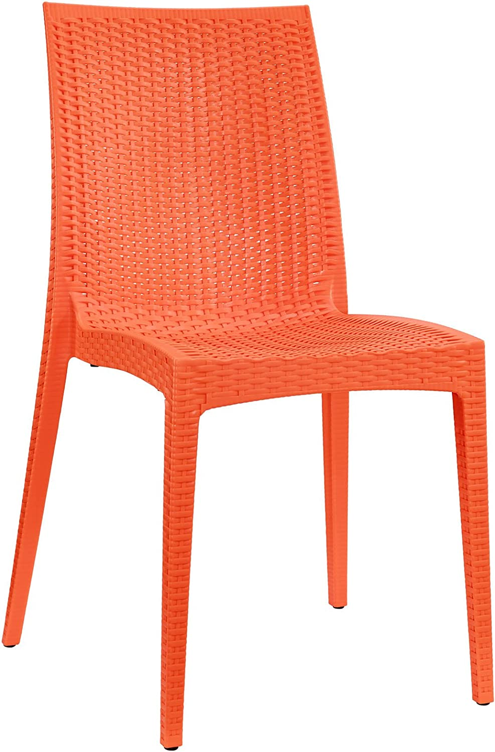 Modway Modway Intrepid Dining Chair, orange