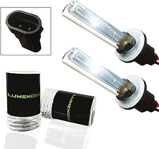 Lumenon HID Xenon Conversion Headlight Replacement Bulbs 1 pair (880 881 893, 8000k Crystal Blue)