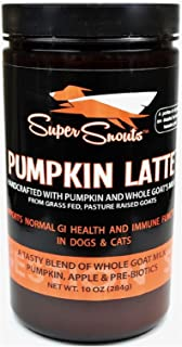 Diggin Your Dog Super Snouts Pumpkin Latte Digestive Health w/ Pre-biotic 10oz (1 Pack)