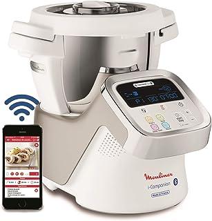 comprar comparacion Moulinex i-Companion HF9001 - Robot de cocina Bluetooth 13 programas y 6 accesorios capacidad 6 personas, incluye cuchilla...
