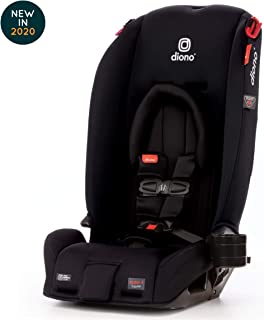 Diono Radian 3RX Latch All-in-One Convertible Car Seat, Black Jet