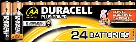 Duracell Plus Power Type AA Alkaline Batteries, pack of 24
