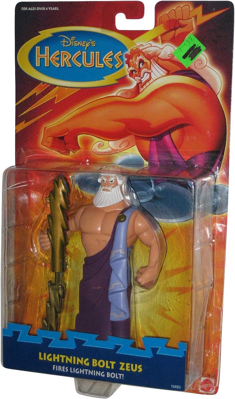 Disney Hercules Lightening Bolt Zeus Figure