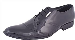 Maplewood Genuine & Stylish Leather Shoes (Black) for Men