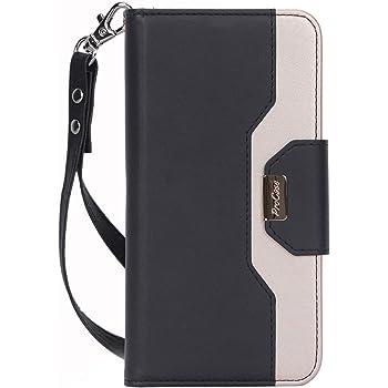 ProCase Google Pixel 4 XL Wallet Case for Women Girls, Leather Flip Kickstand Case with Card Holder Wrist Strap for Google Pixel 4 XL 2019 Release –Black
