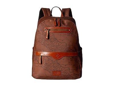 Patricia Nash Karina Backpack (Signature Map) Backpack Bags