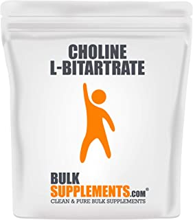Bulksupplements Choline L-Bitartrate Powder (250 Grams)