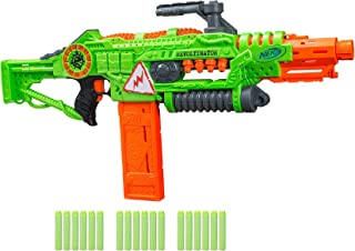 Revoltinator Nerf Zombie Strike Toy Blaster with motorized Lights Sounds & 18..